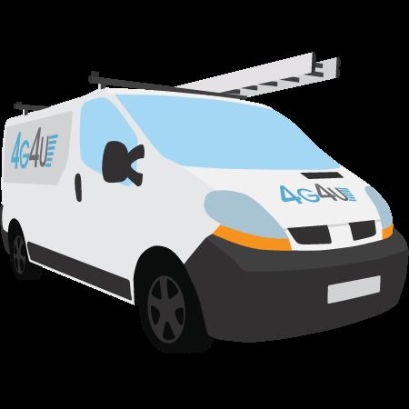 4G4U Sample Van Image