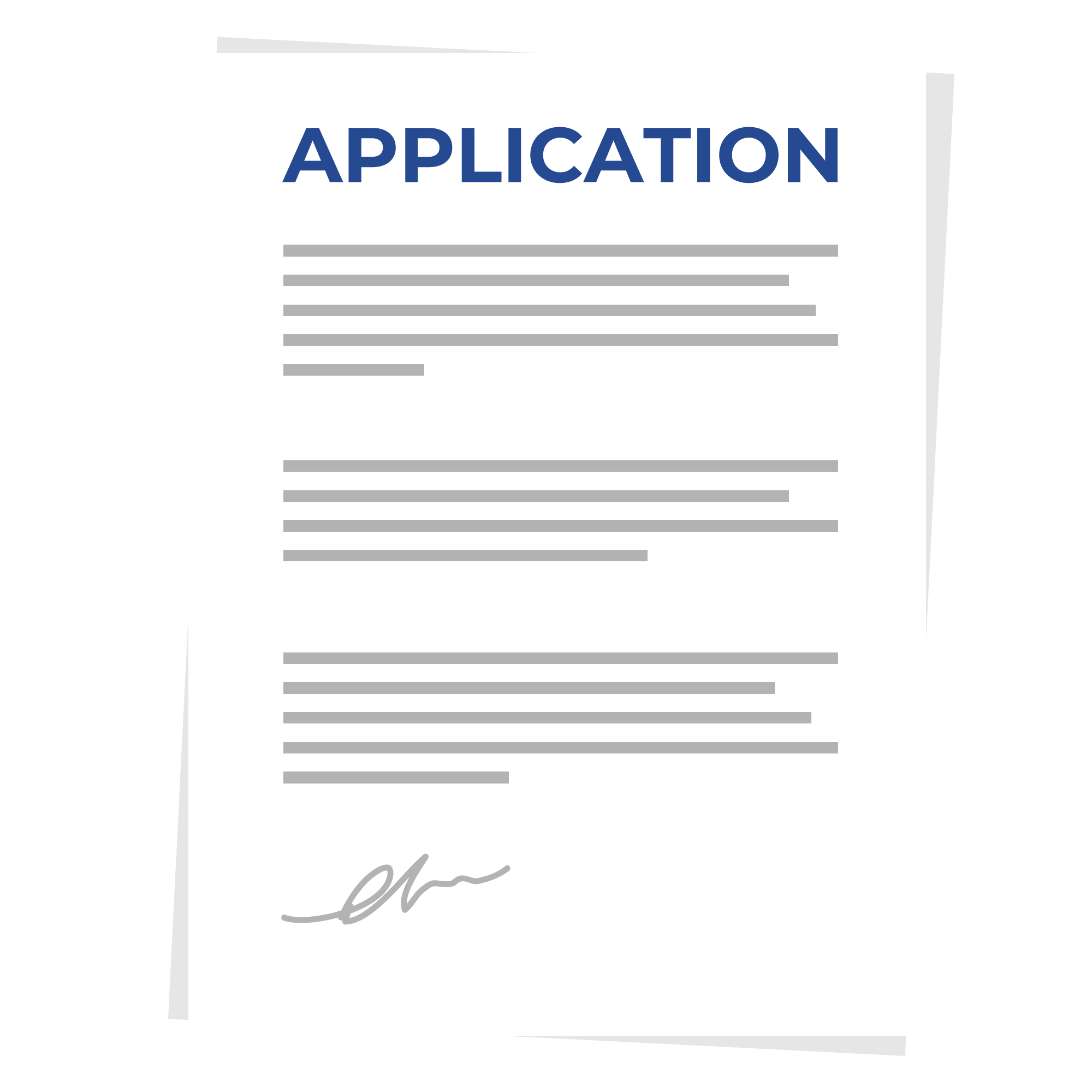 A vector image of a sample Application