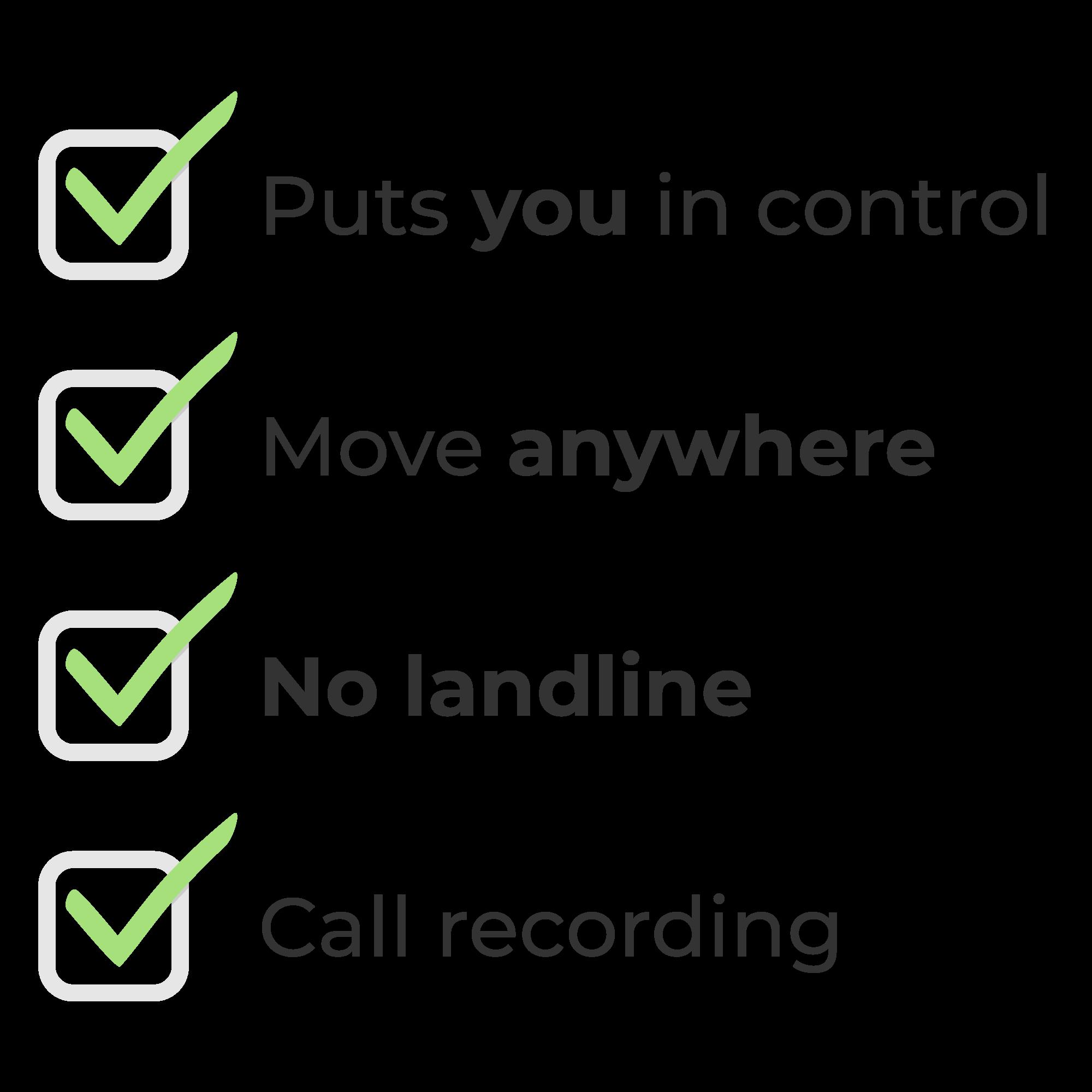 4G4U Benefits Checklist